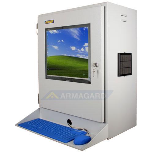 armario para pc industrial protecci n ip54 para monitores lcd y peque os pcs para entornos. Black Bedroom Furniture Sets. Home Design Ideas