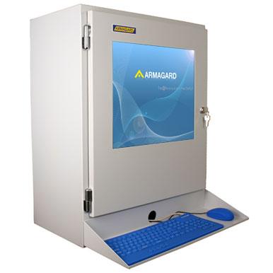 Armario para PC industrial