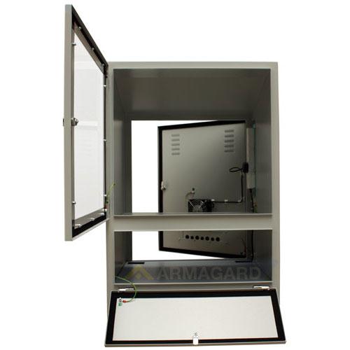 Mueble para ordenador protecci n ip54 para ordenadores for Mueble escritorio ordenador