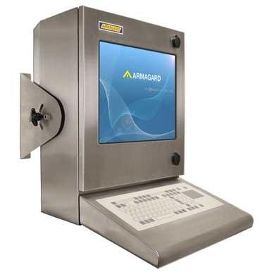 Armario para ordenador resistente al agua compacto SENC-300 vista frontal