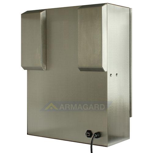Armario pantalla táctil lavable compacto SENC-350 - atrás