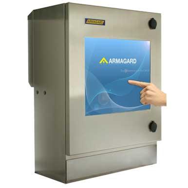 Armario pantalla táctil lavable compacto SENC-350