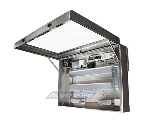 Armario lcd a prueba de agua protecci n exterior para tv - Armario de plastico para exterior ...